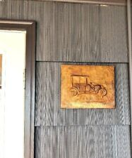 1923 Ford Model T Wall Plaque Hanging Copper Original Art Hand Crafted Detailed