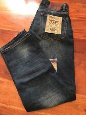Mens LRG Geans Denim Kids Jeans Pants Lifted Research Group 28x30 (SC)
