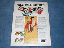 1970 Revell Free Patches and Shelby Race Jacket Vintage Ad