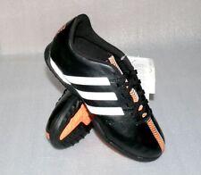 adidas B40878 11 Nova TF J Leder Schuhe Fußball Soccer 37 1/3 USA 5 Black White