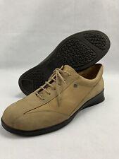 Finn Comfort Size 7.5 D Women's Suede Oxford Lace Up Shoes Comfort