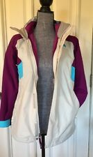 The North Face 2 in 1 Girls Large 14/16 Jacket Raincoat And Ossito Fleece