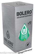 Bolero DRINKS – Bolero Mint (Minze) - 12 Beutel für 18-36 Liter