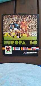 Album Euro 80 Panini completo