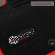 Velours Edition rot Fußmatten für Alfa Romeo 159 SW Sportwagon Kombi ab Bj.2005