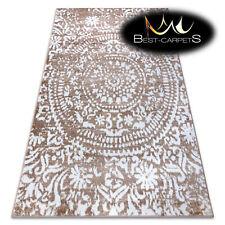 ORIGINAL Designer Rug 'RETRO' CHEAP Vintage carpets HE183 Mandala beige white