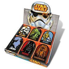 6 X Star Wars Shaped Memo Pads Stormtrooper Yoda Jedi Vader Chewbacca Droids