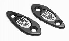 R&G Racing Mirror Blanking Plates for Kawasaki ZX-6R 2009-2012