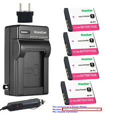 Kastar Battery AC Charger for Sony NP-FT1 & Sony Cyber-shot DSC-T5/B Camera