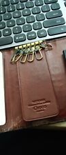 Key Holder Wittchen Brown Crocodile Leather New with authenitcity card
