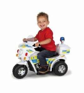 KIDS CHILDREN RIDE-ON FIRE RESCUE BIKE TOY 6V POWER- GREAT GIFT