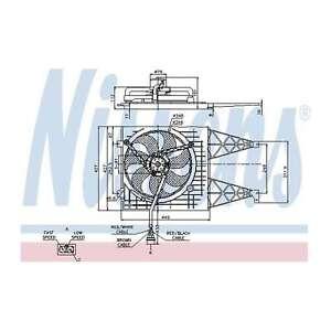 Fits VW Golf MK4 1.9 TDI Genuine OE Quality Nissens Engine Cooling Radiator Fan