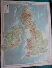 Antique Maps, Atlases & Globes 1920-1929 Date Range