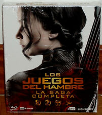 LOS JUEGOS DEL HAMBRE LA SAGA COMPLETA 4 BLU-RAY NUEVO PRECINTADO (SIN ABRIR) R2