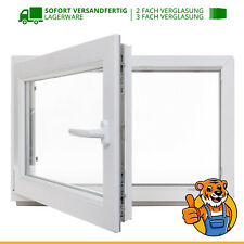 Kellerfenster Kunstoff Fenster 2 3 fach Verglasung weiß Dreh Kipp LAGERWARE