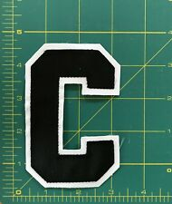 Captain's C Hockey Jersey NHL Crest Patch