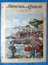 La Domenica del Corriere 18 maggio 1902 Mille,Quarto - Amsterdam - Guglielmina