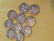 First Responder Fire Dept. TEN pack 1 Oz. solid copper Coins by REEDERSONG