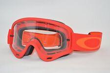 Gafas Oakley O Frame Mx Atv Motocross greenlaning Bmx Rojo Naranja Nuevo