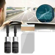 2Pcs Automotive Glass Nano Repair Fluid Car Window Glass Crack Chip Repair Tool