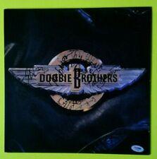 "Doobie Brothers Signed  Auto Album LP Record Cover ""Cycles"" PSA/DNA 5 Signatures"