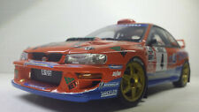 1:18 Model Die-cast Rare Orange Autoart  Subaru Impreza  WRC 2000 Rally Car