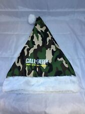 Call of Duty Infinite Warfare Camo Santa Elf Hat Holiday Promo