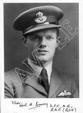 STTF28 WWII WW2 BoB RAF Battle of Britain pilot CORRY DFC signed photo