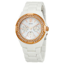 Guess Multi-Function Mother of Pearl Dial Ladies Watch W0062L6
