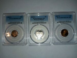 PCGS PROOF COIN LOT NICE LOOK  !