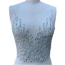 Bling Pflanze Kostüm Abendkleid Rand Strass Abend Tanzend Kleid Spitze 1PC