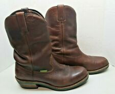 JOHN DEERE LEATHER UPPER BROWN WORKING  BOOTS JD5194 SIZE 11M
