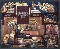 Niuafo'ou 2012 Weihnachten Christmas Gemälde Paintings 491-502 Postfrisch MNH