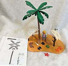 PLAYMOBIL VINTAGE 3861 Pirates Castaway  Island w/ INS 1996