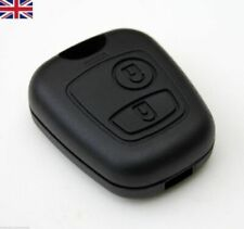 for Peugeot 107 206 207 306 307 407 Citroen 2 Button Remote Key Fob Case Shell