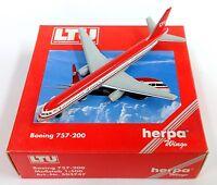 Herpa Wings 1:500 503747 LTU INTERNATIONAL AIRWAYS Boeing 757-200 Aircraft Model