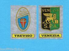 PANINI CALCIATORI 1985/86 -FIGURINA n.602- TREVISO+VENEZIA -SCUDETTO-Rec