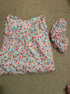 Joules Dress and Matching Pants Age 6-9months