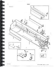 Parts Manual Massey Ferguson 760 Combine Sn 09412