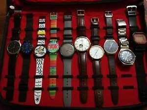 Stock orologi da polso SWATCH, SKAGEN, CASIO, HENRY LONDON, DANIEL WELLINGTON
