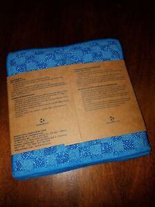 New Norwex Enviroscrub 3-pack blue dual sided