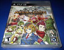 Aegis Of Earth: A Protonovus Assault PS3 - Factory Sealed!! Free Ship!!