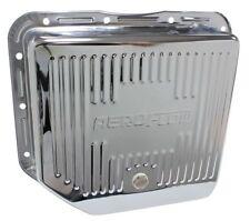 Aeroflow AF1825-3003 Deep Transmission Pan Chrome W/ Drain Plug Fits Th350