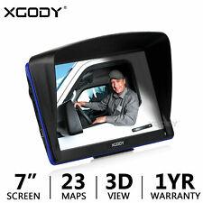"XGODY 7"" Car Truck GPS Navigation System 8GB Lorry HGV Sat Nav Free UK EU Maps"