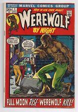 Werewolf by Night #1 4.0 VG  Key Book