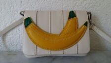 kleine Umhängetasche Handtasche Tasche Zara Basic Collection Bananenapplikation