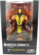 "MORTAL KOMBAT X - Scorpion 12"" Action Figure (Mezco) #NEW"