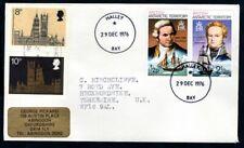 British Antarctic Territory - 1976 Cover Postmark Halley Bay
