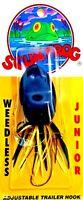 Rare Southern Lure ScumFrog Junior Black Weedless Fishing Lure ( #SFJ-402 )
