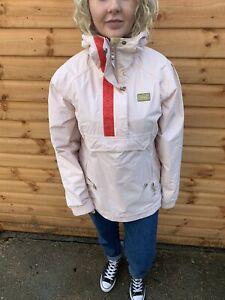 Vintage Helly Hansen Helly Tech Overhead 1/2 Zip Jacket Womens Medium Pink